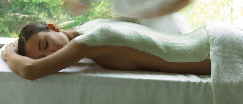Beautysalon bibi - bodypakking rug